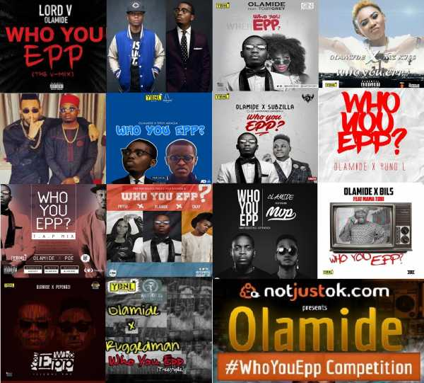 Various artists jumped on Who You Epp? freestyle