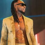 Flavour gives great performance at concert in Ghana