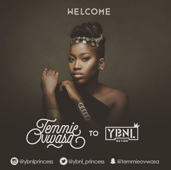 "Olamide signs ""Temmie Ovwasa"" to YBNL Nation » Hitvibes"