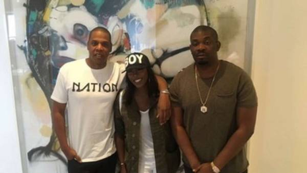 Pictures: Tiwa Savage meets Jay Z to sign deal » Flatimes