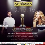 Africa's Biggest Comedian Basketmouth and American Reality TV Star Cynthia Bailey Announced as AFRIMMA 2016 Hosts