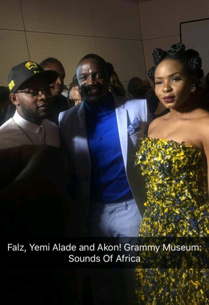 """Yemi Alade's """"Johnny"""" Music Video Costume Displayed at The Grammy Museum"""