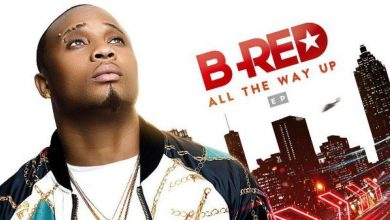 "Photo of B-Red does not fly on ""All The Way Up"" EP"