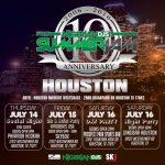 10th Annual Nigerian DJs Summer Jam 2016 | July 14-17 Houston, TX