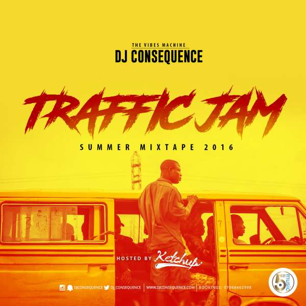 DJ Consequence – Traffic Jam Summer Mixtape 2016 (Hosted By Ketchup) image