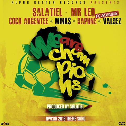 Salatiel x Mr Leo ft. Minks', Daphne, Valdez, Mary A - We Are Champions image
