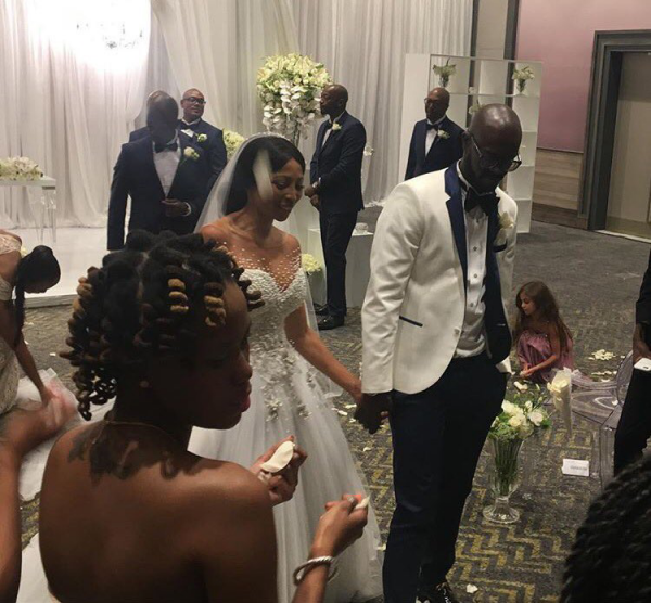 DJ Black Coffee x Enhle Mbali Wedding In Photos Video