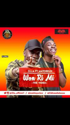 O.L.A Ft. Mayorkun – Won Ri Mi image
