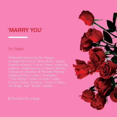 Ric Hassani – Marry You image