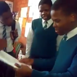 Watch 13 Year Old Nasty C Spitting Bars In Jnr High School