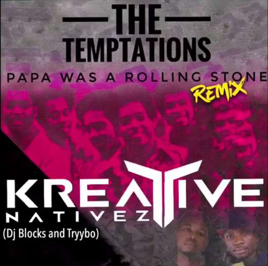 The Temptations - Papa Was A Rollin' Stone - Plastic Man