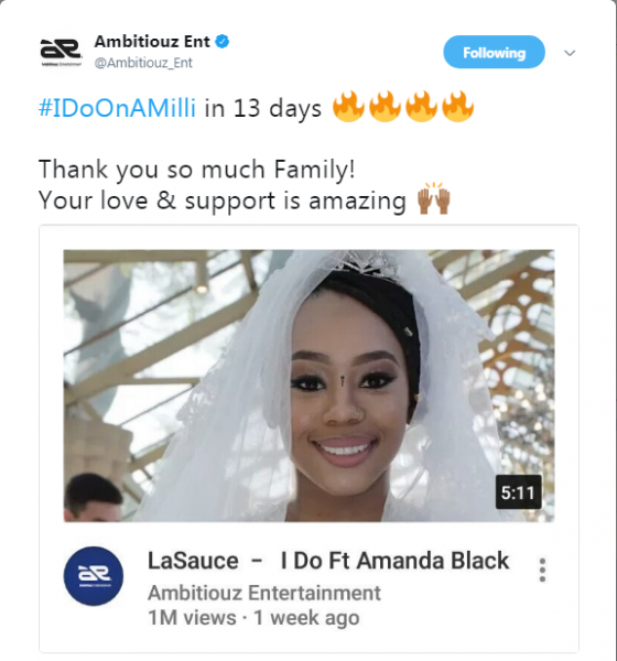 The Music Video For 'I Do' By La Sauce Reaches 1 Million Views In 13 Days News