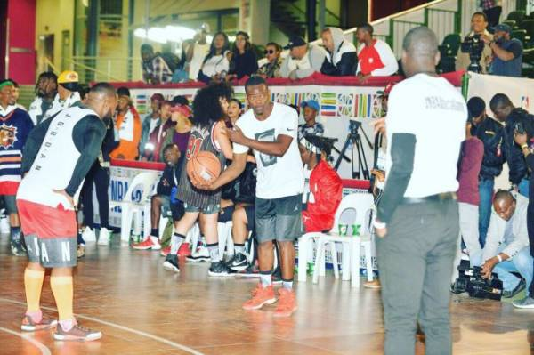 Pictures From NBA Celebrity Africa Game Featuring Cassper ...