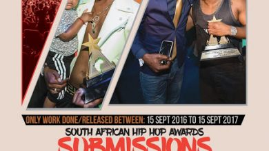 Photo of Submissions For South African Hip Hop Awards Open Till 22nd September