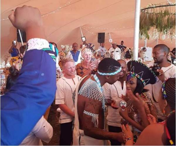 Check Out Pictures From Thabsie's Heritage Day Wedding