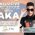 AKA Talks Music In Twitterview With Sun City Resorts