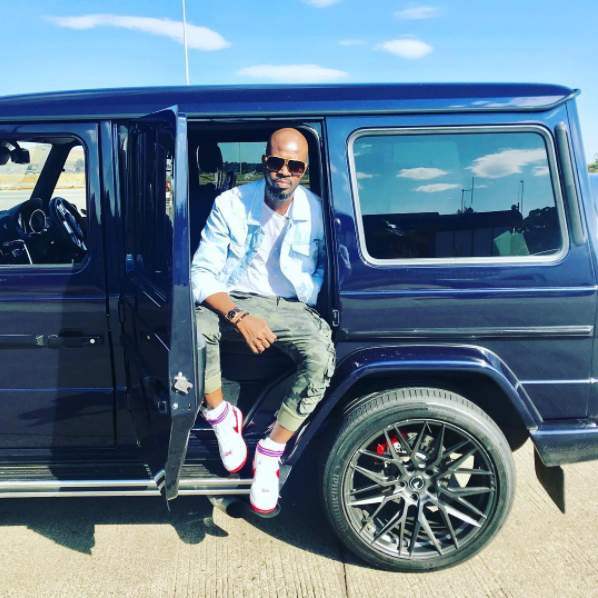 Hitvibes Black Coffee Gifts His Mum A New Mercedes SUV For Christmas News  South Africa Black Coffee