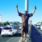Check Out DJ Sbu Selling Energy Drink On The Highway