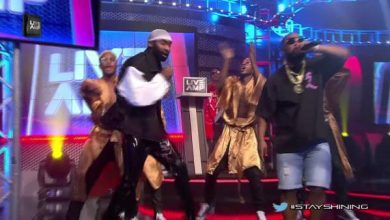 Photo of Riky Rick, Cassper Nyovest & Professor Performs Stay Shining Live