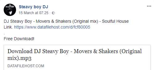 Hitvibes DJ Steavy Boy - Movers & Shakers Music  South Africa House DJ Steavy Boy