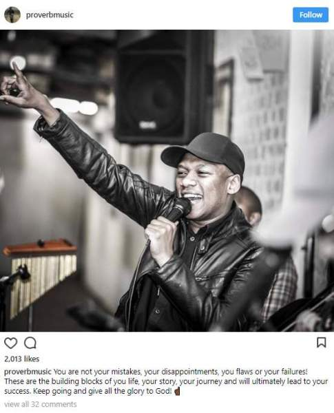 Hitvibes ProVerb breaks down his emotional stage breakdown News  South Africa Proverb