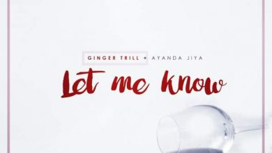 Photo of Ginger Trill – Let Me Know ft. Ayanda Jiya