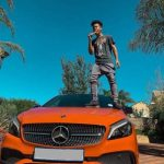 Nasty C shows off his new Mercedes Benz 2018 A-Class
