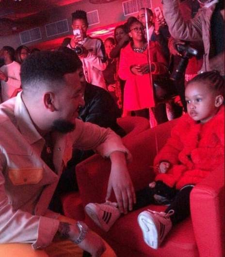 Hitvibes #TouchMyBlood: Zinhle & Kairo in attendance as AKA make more revelations on Daddy Issues II News  South Africa DJ Zinhle AKA