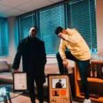 AKA takes delivery of RiSA certified gold plaques for 'Touch My Blood'