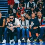 AKA, Cassper, Da L.E.S & other celebrities at the #NBAAFRICAGAME