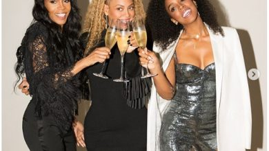 Photo of Beyonce Confirmed in South Africa… Hope of Destiny's Child Reunion May Not Fly