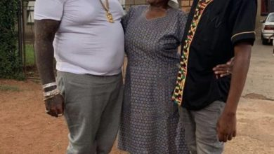 Photo of Epic Moment as Rick Ross Meets Kwesta's Mom… Cassper Nyovest Dragged In