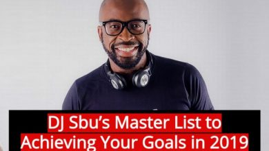 Photo of DJ Sbu's Master List to Achieving Your Goals in 2019