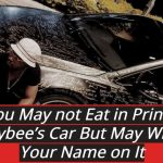 You May Not Eat In Prince Kaybee's Car, Here Is What You Can Do