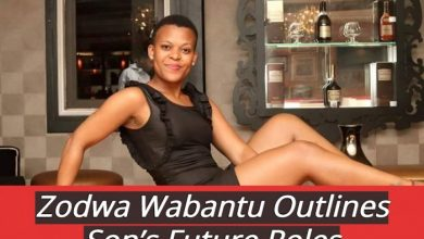 Zodwa Wabantu Outlines Son's Future Roles