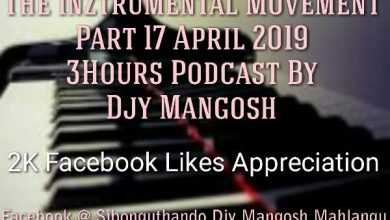 Photo of Djy Mangosh – The Inztrumental Movement Part 17 April 2019 3Hours Podcast (2K Facebook Likes Appreciation)