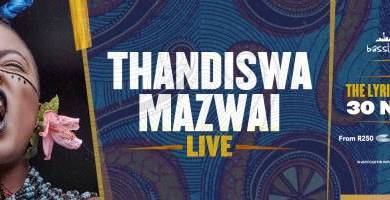 Photo of BASSLINE LIVE Presents THANDISWA MAZWAI LIVE at the Lyric Theatre