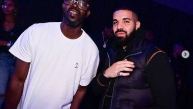 Photo of DJ Black Coffee thanks Drake for showing up at his gig