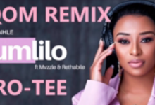 Photo of DJ Zinhle Ft. Mvzzle & Rethabile – Umlilo (Pro-Tee Gqom Remake)