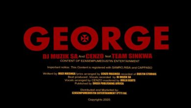 Photo of DJ Muzik SA & Cenzo – George ft. Team Sinkwa