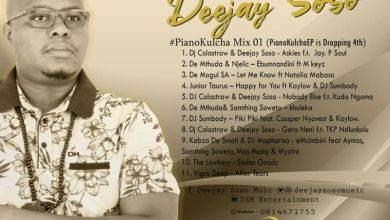 Photo of Deejay Soso – PianoKulcha Mix 01