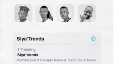Photo of Kammu Dee – Siya Trenda Ft. Cassper Nyovest, Semi Tee & Miano