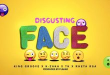 Photo of King Groove, K-Zaka, TK, Retha RSA – Disgusting Face
