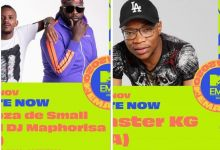 Photo of Master KG, Kabza De Small & DJ Maphorisa Bag Nominations For The 2020 MTV EMA